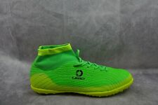 Leoci Men's Indoor Soccer Shoes Turf Football Training Boots Green 10