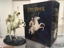 Sideshow Weta Lotr Lord of the Rings: Gandalf on Shadowfax Statue - 1405/8500!
