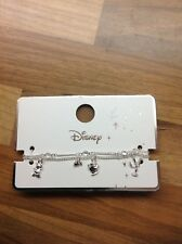 Disney Beauty And The Beast Silver Colour Bracelet Primark