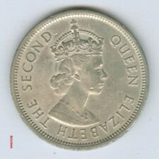 HONG KONG -  UK CHINA 1982 BRITISH COLONY 10 CENTS COIN  (No.2) MONEY