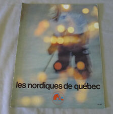 1977-78 WHA Quebec Nordiques vs New England Whalers Hockey Program