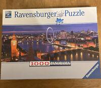 1000 Piece Ravensburger Jigsaw Puzzle - London At Night PANORAMA