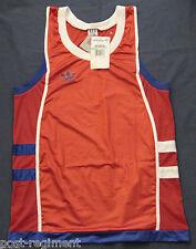 Nouveau Adidas netshirt Shirt Tank Top Laufshirt Gilet Singlet Mesh GAY vintage 80