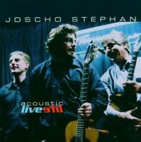JOSCHO STEPHAN - ACOUSTIC LIVE  CD NEW!