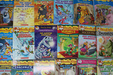 Lot of 10 of Geronimo Stilton & Thea Stilton Books - Random - Free Shipping