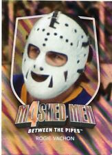 11/12 BETWEEN THE PIPES MASKED MEN 4 SILVER MASK #MM-45 ROGIE VACHON KINGS 48340