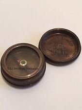 "Antique Compass Vintage Brass Nautical 1.5"" Inch Victorian Steampunk Retro Old"
