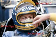 RONNIE PETERSON LOTUS JPS 72E di British Grand Prix 1974 fotografia 10