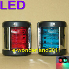 Navigation Lights Port/Starboard LED 12 Volt Boat/Yacht Marine  Nav Lights NEW