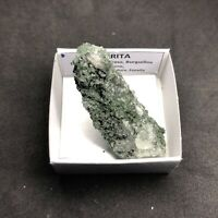 CLORITA Chlorite - Burguillos del Cerro -CAJITA 4X4 SPAIN MINERAL COLECCION K309