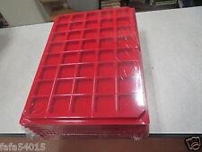 LOT 10 BOX DE RANGEMENTS POUR CAPSULES DE CHAMPAGNE VELOUR + couvercle plateau n