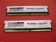 Super Talent 1GB Kit (2 x 512MB) DDR2 667 *  PC5300  Memory Module 64M x 8 CL5