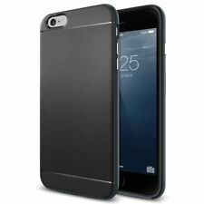 Black Luxury Case for iPhone 6 6S Slim Armor Hybrid Shock Proof Ultra Thin Cover