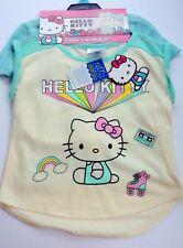 Hello Kitty Tolder Girls 3 -Piece Sleepwear Set ,Multi color Size(4T) W@W Nwt