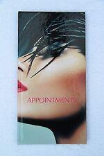 3 Column Appointment Book - Premium Dark - Pretty Design - Salons, Hairdressers