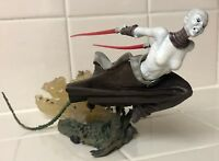 Hasbro Star Wars Unleashed Action Figure Asajj Ventress Sith/Dark Jedi LOOSE