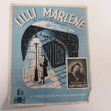 Unanimità Lilli Marlene Judy Shirley 1944