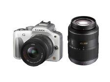 Panasonic Miralles SingleLens Camera Lumix G3 Double Rhythm Kit Shell White