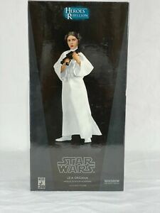 Sideshow Collectibles 1:6  Star Wars Princess Leia (Heroes of the Rebellion) NEW