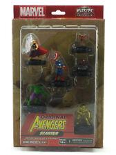Marvel Heroclix Original Avengers Starter Set 6-Figure 2-Maps Dice Spanish Ed
