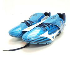 Mizuno Triple Jump Spikes Shoes Unisex Sz 11 Wide 8km-87125 All blue Brand New.