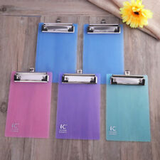 5*A6 Clipboards,Plastic Clipboard,Mini Colourful Transparent