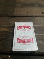 Vintage 1960S Early Times Old Style Kentucky Whisky Playing Cards New  Sealed