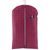 Domo Pak Purple Suit Cover 60 x 100cm Travel Dress Carrier Bag Waterproof 2 Pack
