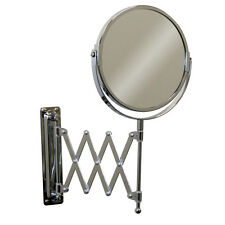 Ikea Magnifying Wall Mirror For Bathroom Telescopic Stainless Steel Shave Makeup