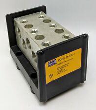 Ilsco Power Distribution Block PDBU-55-500-1