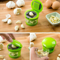 Garlic Press Chopper Slicer Hand Presser Grinder Crusher Home Kitchen Tools