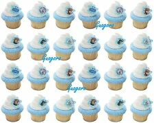 24 Frozen Birthday Cupcake Rings Bag Fillers Party Supplies Favors Prizes Decor