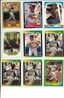 Lot of (79) Barry Bonds Baseball Cards w/ Rookie - MLB Pirates - Wow!