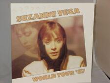 Suzanne Vega Signed World Tour Program 1987