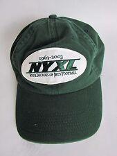 New York Green Four Decades of Jets Football 1963 - 2003 Strap NY XL Fahrenheit