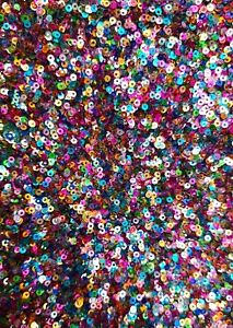 10g 2mm FLAT Metallic AB Shiny Opaque Round Loose Sequins Clothes Sewing Wedding