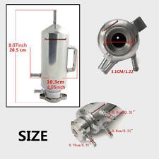 350ml Aluminum Radiator Coolant Expansion Tank Bottle Header Reservoir Set Brand