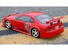 1:18 Ford Mustang Cobra Lexan Body / Karosserie clear + decals wb140mm HPI 7608