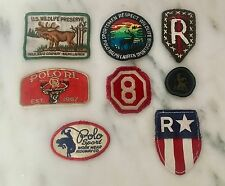polo Patches LOT of 8