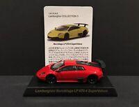 Kyosho 1/64 Lamborghini Murcielago LP 670-4 SuperVeloce Diecast Car Model RED