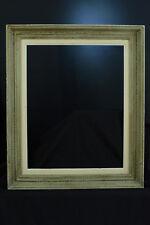 Grand Cadre ancien Montparnasse bois sculpté mouluré  tableau hst toile frame