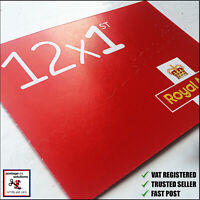 1st CLASS Stamps NEW x12 Royal Mail Postage Stamp First Book Sheet UK FAST POST!