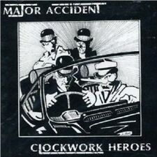 MAJOR ACCIDENT - CLOCKWORK HEROES-BEST OF  CD NEU