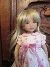 Perruque / Wig  pour poupée Little Darling , bjd taille 7