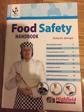 Food Safety Handbook R A Sprenger Highfield Training CW