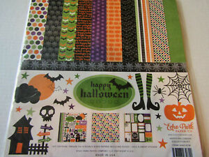 Echo Park Happy Halloween 12x12 Collection Kit Paper Stickers  Cards Scrapbooks