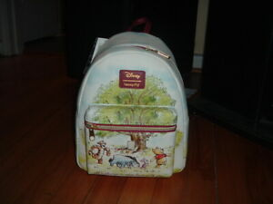 LOUNGEFLY DISNEY POOH ALWAYS ADVENTURE MINI BACKPACK~ WITH TAGS~BRAND NEW~