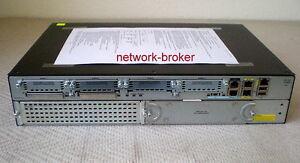 Cisco 2911 Cisco2911-SEC/K9 Router 2GB R 256MB F + securityk9 license