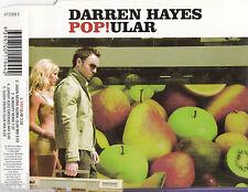 DARREN HAYES Pop!ular OZ CD Single