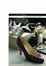 PUBLICITE ADVERTISING  1980   J.B  MARTIN    chaussures